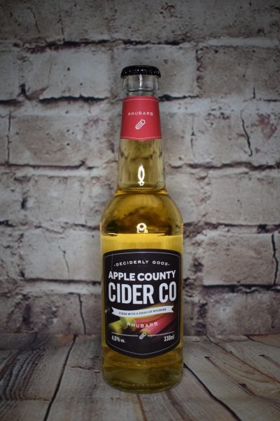 Apple County Rhubarb Cider
