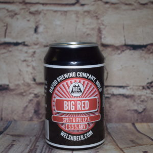 Hafod Big Red Welsh Beer
