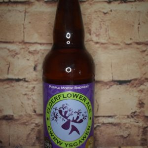 Purple Moose Elderflower Ale